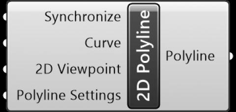 2D Polyline