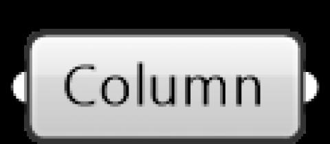 ARCHICAD Column parameter
