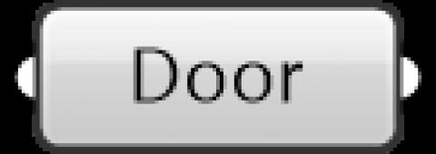 ARCHICAD Door parameter