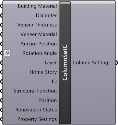 Column Settings Circular