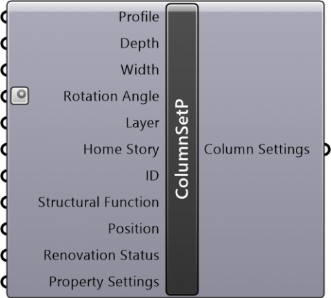 Column Settings Profile