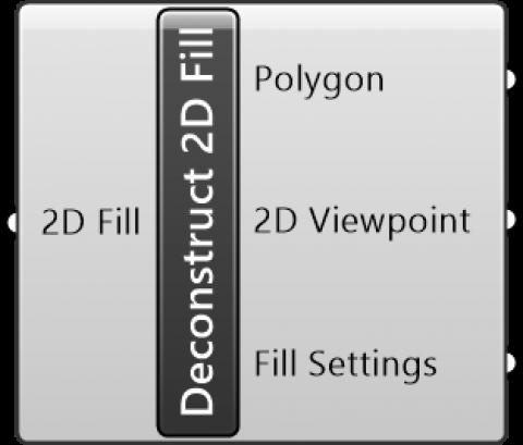 Deconstruct 2D Fill
