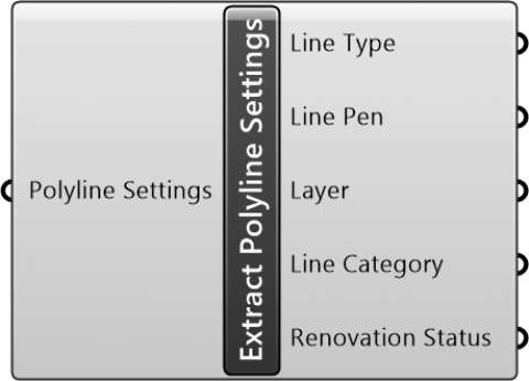 Extract Polyline Settings