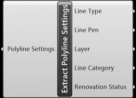 Extract Polyline Settings