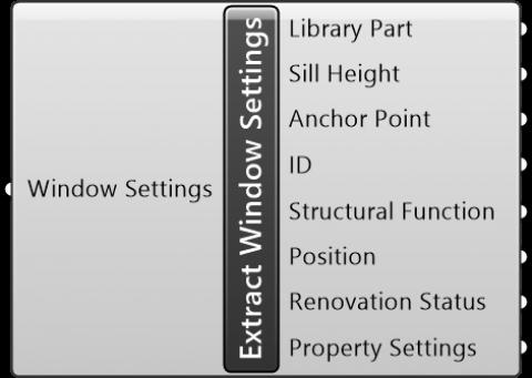 Extract Window Settings