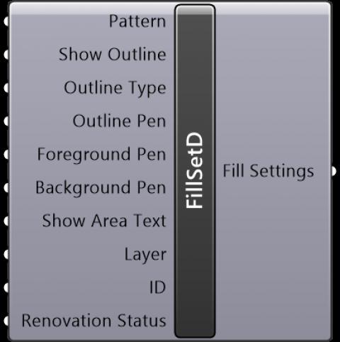 Fill Settings Drafting
