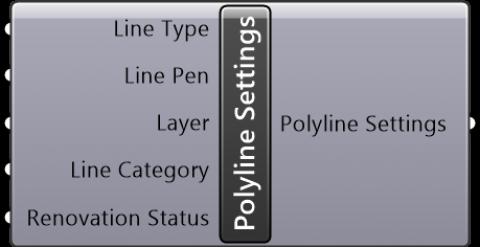 Polyline Settings