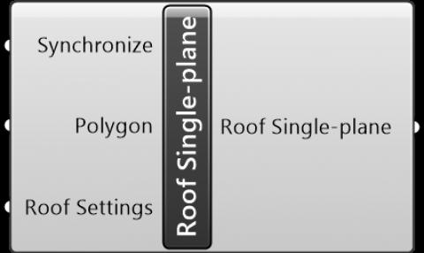 Roof Single-plane