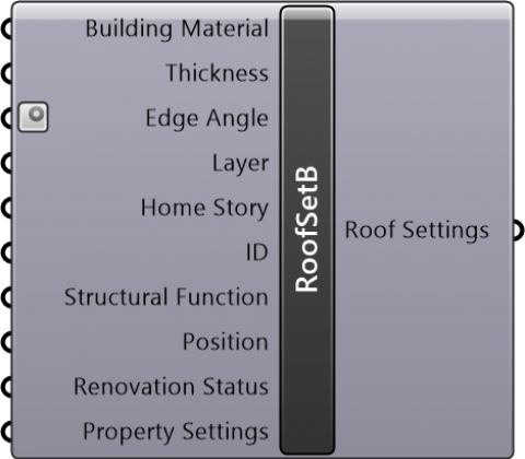 Roof Settings Basic