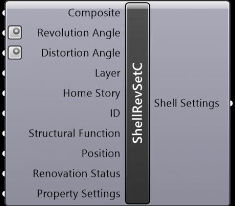 Shell Revolved Settings Composite