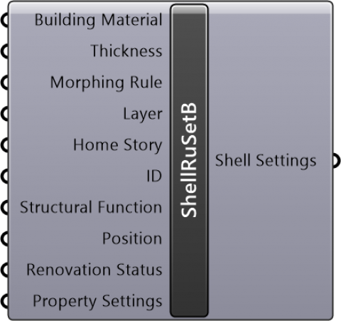 Shell Revolved Settings Basic