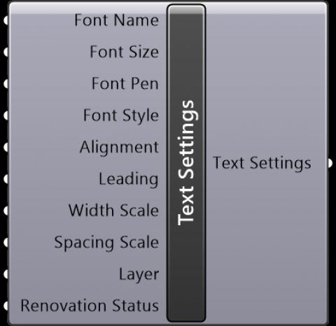 Text Settings