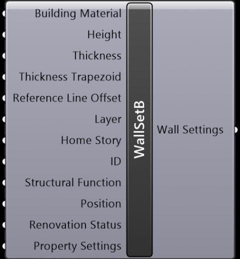 Wall Settings Basic(Geometry Method=Trapezoid)