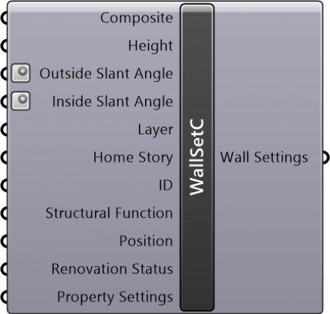 Wall Settings Composite(Geometry Method=Straight / Reference Line Location=Center or core center)